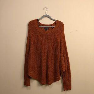 FOREVER 21+ // Burnt Orange Sweater